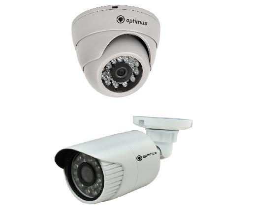 Комплекты видеонаблюдения HD на 2 камеры цены
